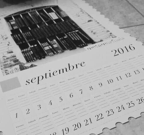 El calendario de Garduño de nuestras amigas de Bocanada Creativa nos marca el camino.