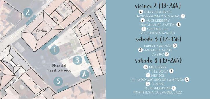 Horarios FestiBalc 2016